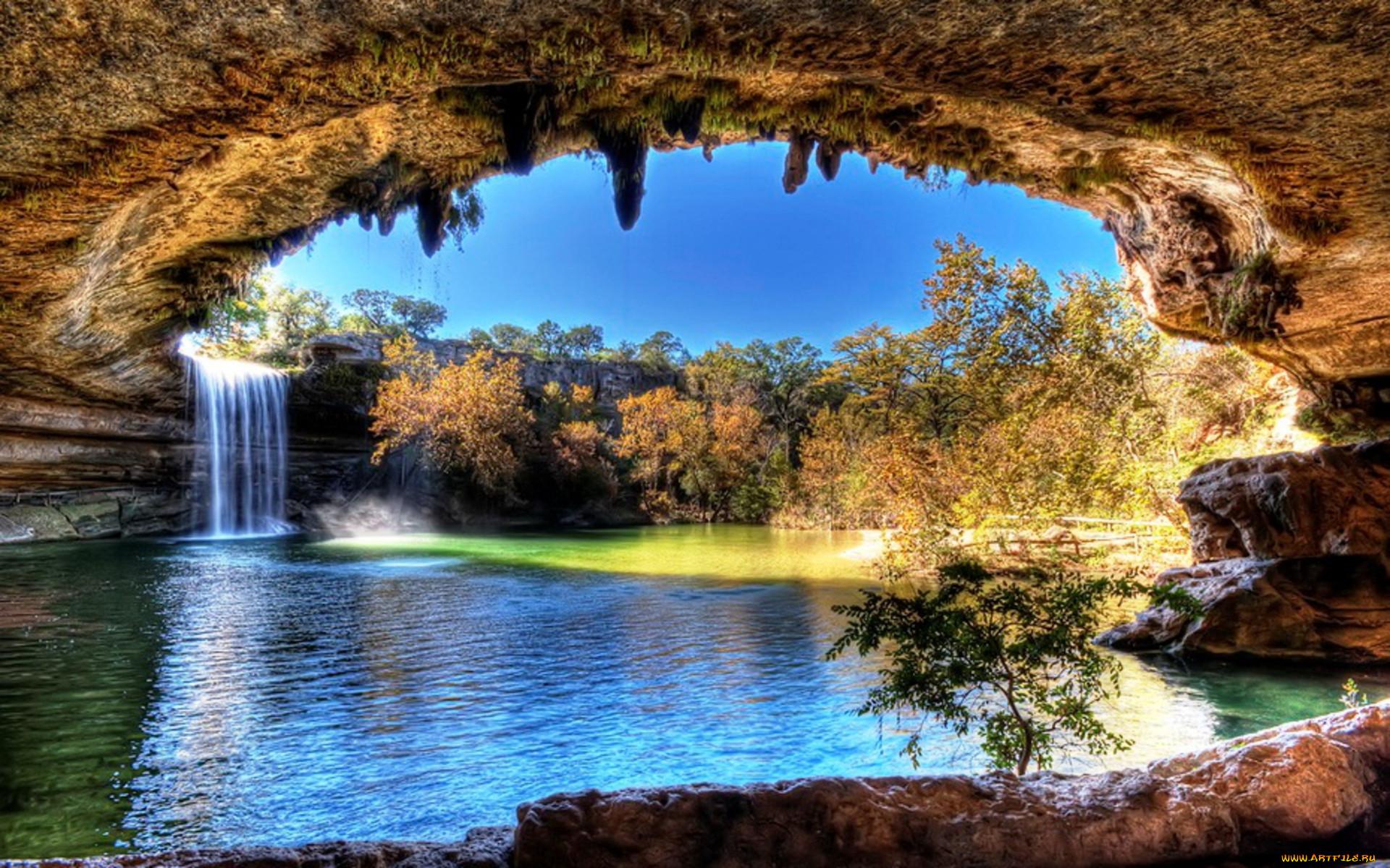 Lake hamilton in texas природа водопады арка